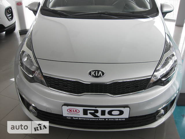 Kia Rio FL 1.4 АТ (109 л.с.) Business