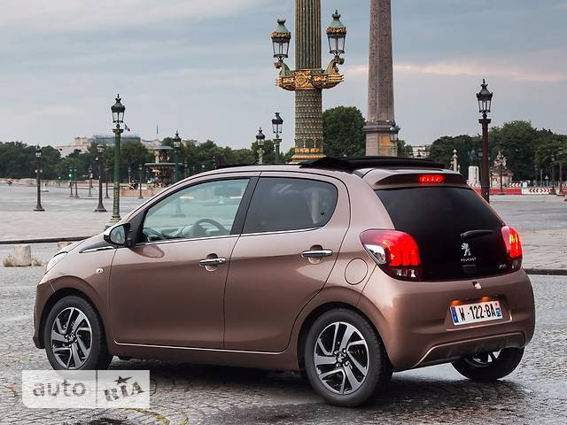 Peugeot 108 1.0 VTi AT (68 л.с.) Allure