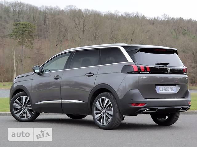 Peugeot 5008 2.0 BlueHDi AT (180 л.с.) Start/Stop GT