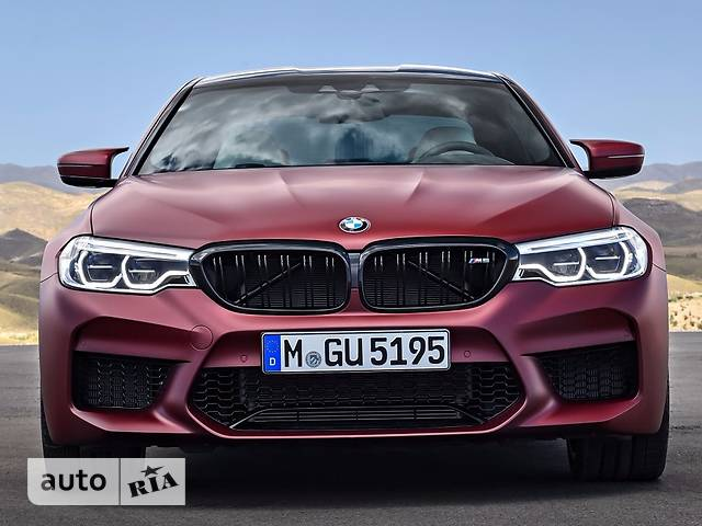 BMW M5 F90 4.4 АТ (600 л.с.) xDrive base
