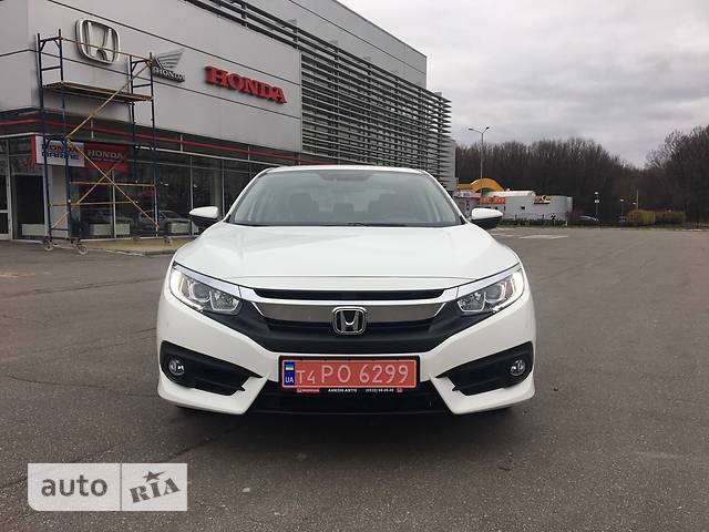Honda Civic 1.6 CVT (125 л.с.) Elegance