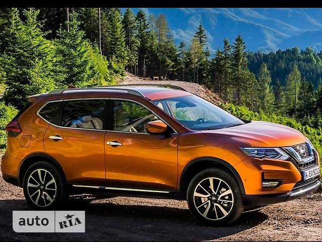 Nissan X-Trail New FL 2.0 CVT (144 л.с.) N-Connecta