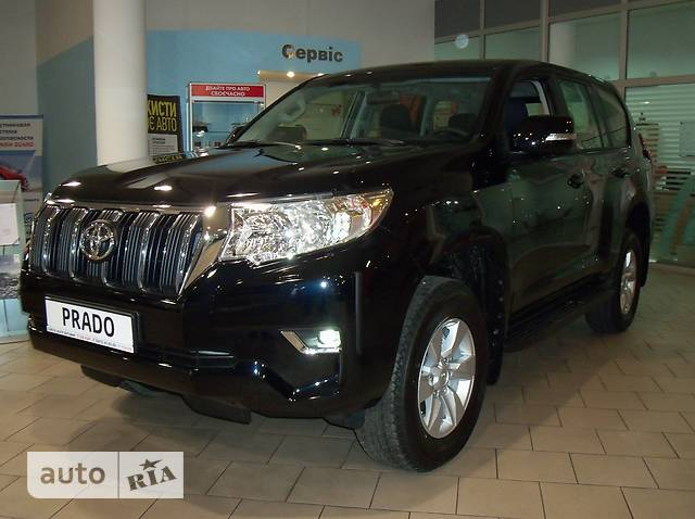 Toyota Land Cruiser Prado 2.8D AT (177 л.с.) Comfort