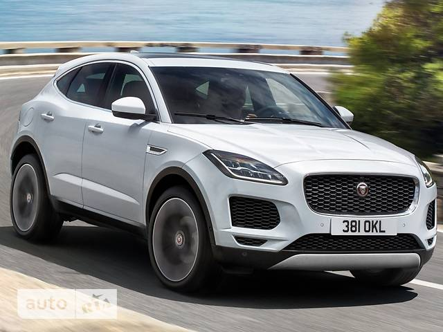 Jaguar E-Pace 2.0D AT (240 л.с.) AWD S