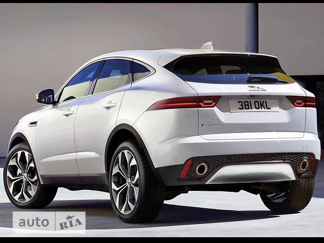 Jaguar E-Pace 2.0D AT (180 л.с.) AWD Base