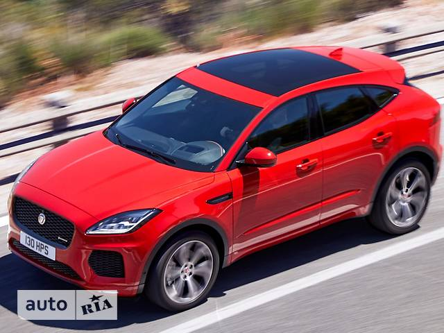Jaguar E-Pace 2.0 AT (240 л.с.) AWD First Edition