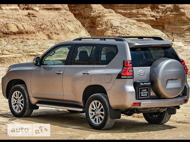 Toyota Land Cruiser Prado FL 2.8 D-4D AT (177 л.с.) 4WD Premium