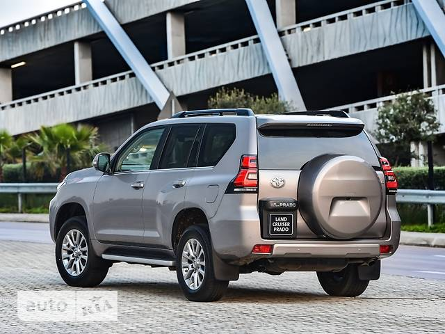 Toyota Land Cruiser Prado FL 2.7L AT (163 л.с.) 4WD Elegance