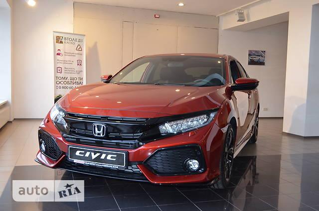 Honda Civic 1.5T VTEC CVT (182 л.с.) Sport