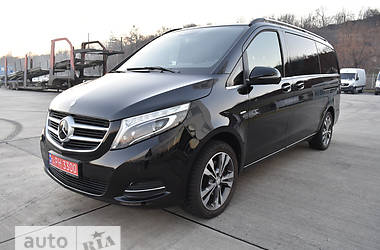 Mercedes-Benz V-Class V 250d AT (190 л.с.) Long AVG 2017