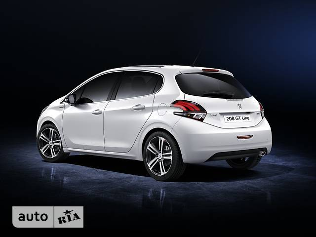 Peugeot 208 1.2 Puretech AT (110 л.с.) Start/Stop GT-Line