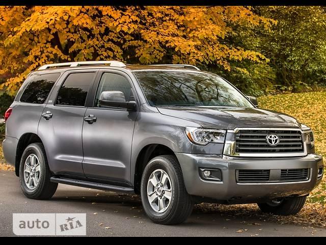 Toyota Sequoia FL 5.7 AT (381 л.с.) Platinum