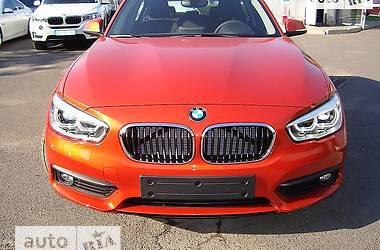 BMW 1 Series F20 118i AT (136 л.с.)  2017