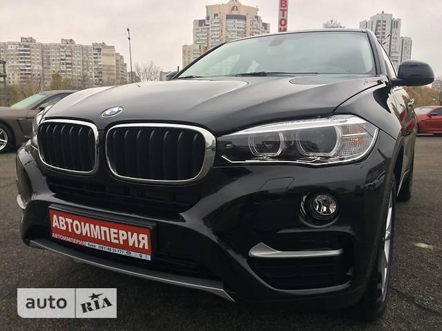 BMW X6 F16 35i AT (306 л.с.) xDrive