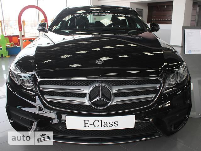 Mercedes-Benz E-Class E 220d АТ (194 л.с.) 4Matic