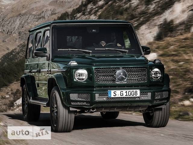 Mercedes-Benz G-Class 500 AT (422 л.с.) 4Matic
