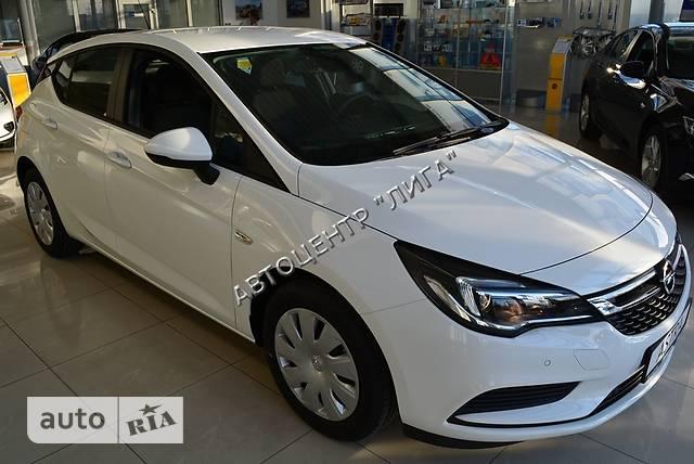 Opel Astra K 1.4 MT (100 л.с.) Enjoy