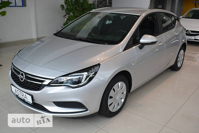 Opel Astra K 1.4 Turbo AT (150 л.с.) Enjoy