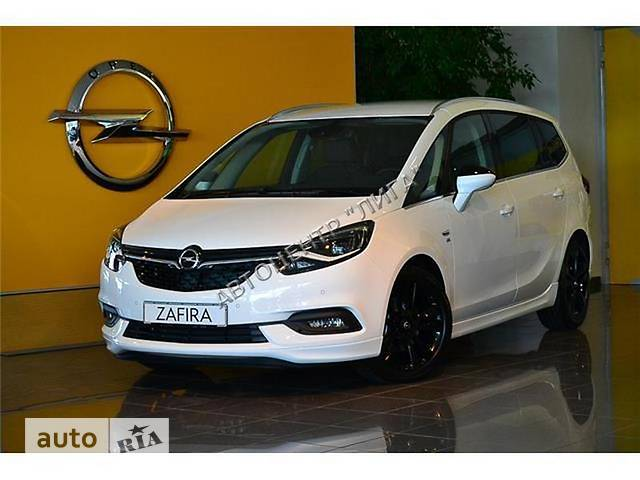 Opel Zafira 1.4 МT (120 л.с.) CNG Edition