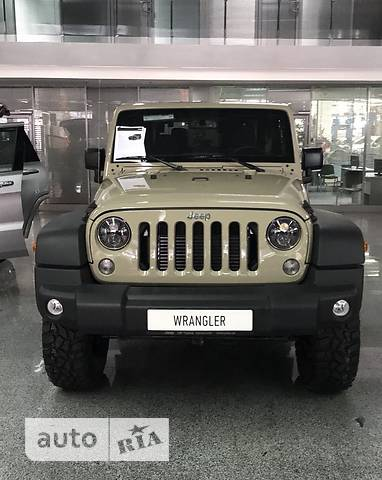 Jeep Wrangler 3D 2.8TD AT (200 л.с.) Rubicon