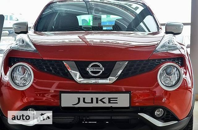Nissan Juke FL 1.6 CVT (117 л.с.) SE Active