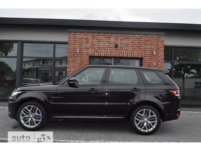 Land Rover Range Rover Sport 5.0 AT (551 л.с.) SVR V8 SC
