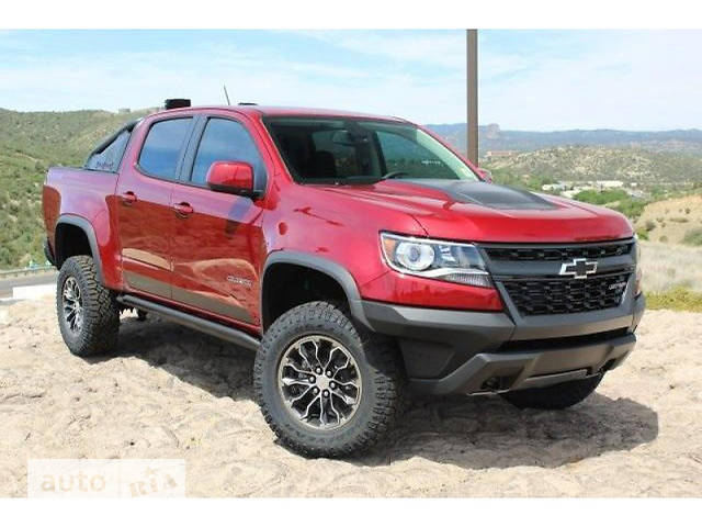 Chevrolet Colorado 3.6i AT (308 л.с.) ZR2 Off-Road 4WD