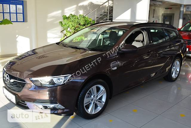 Opel Insignia 2.0D AT (170 л.с.) Start/Stop Edition