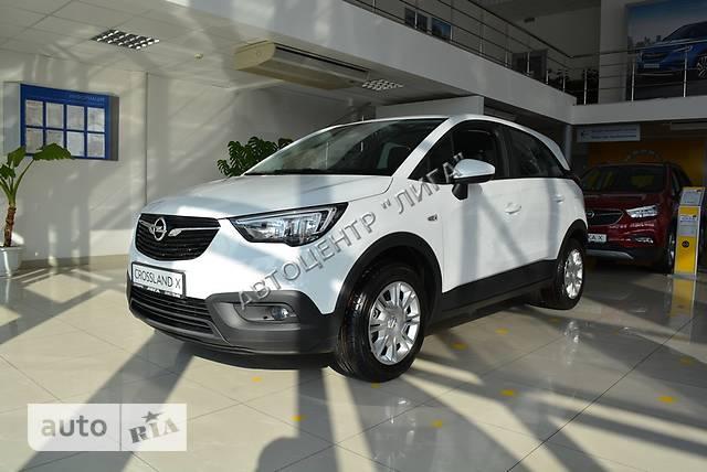 Opel Crossland X 1.6 CDTi 6MT (120 л.с.)