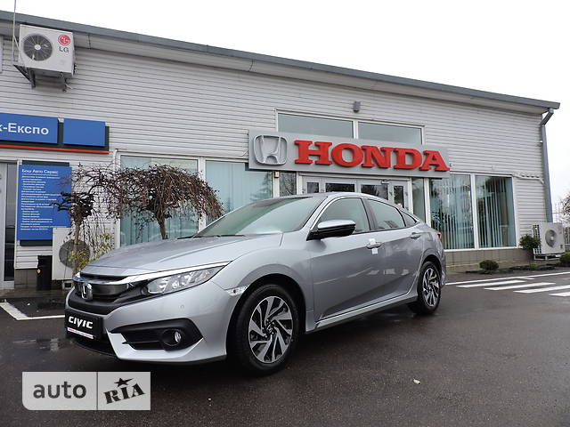 Honda Civic 1.6 AT (123 л.с.) Elegance