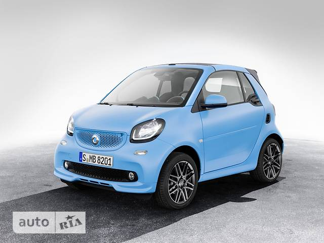 Smart Fortwo Brabus 0.9 AT (109 л.с.) Standart