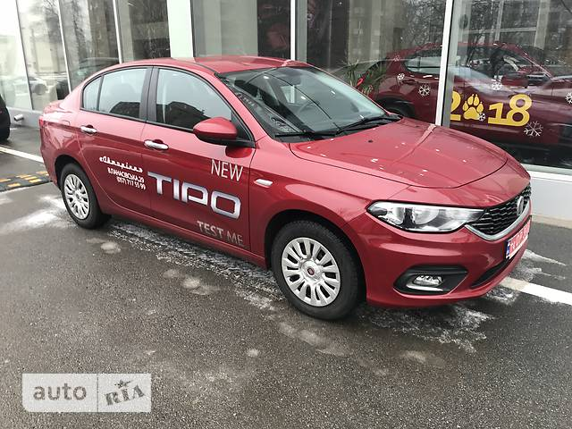 Fiat Tipo 1.6 АТ (110 л.с.) Mid