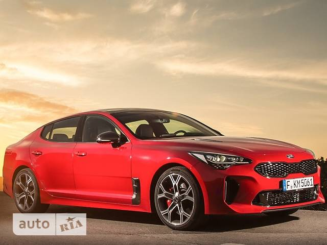 Kia Stinger 2.0 AT (255 л.с.) Prestige