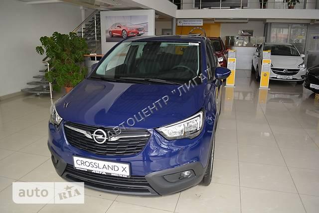 Opel Crossland X 1.6 CDTi 6MT (120 л.с.) Enjoy
