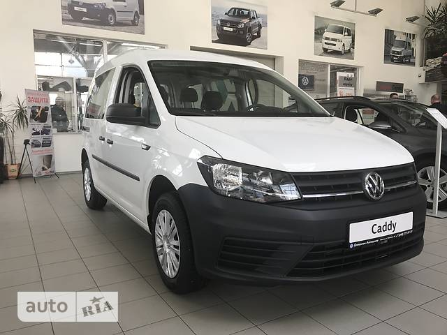 Volkswagen Caddy пасс. New 1.6 MT (81 kw) Trendline
