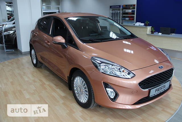 Ford Fiesta 1.0 Ecoboost AT (100 л.с.) Business+