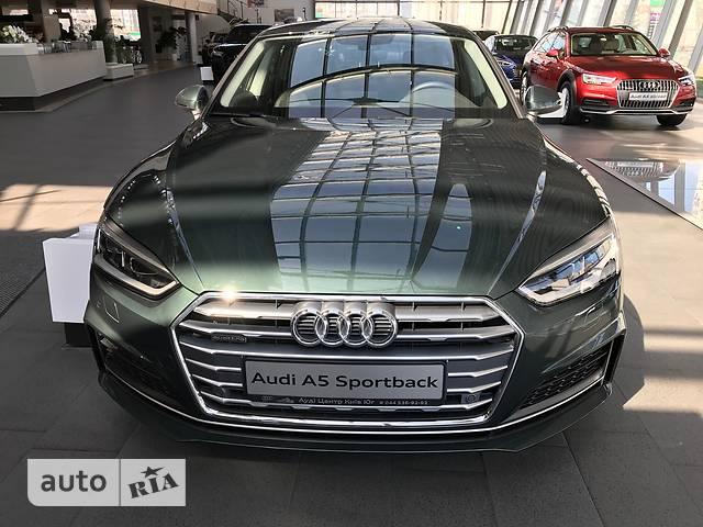 Audi A5 New 2.0 TDI S-tronic (190 л.с.) Quattro  Basis