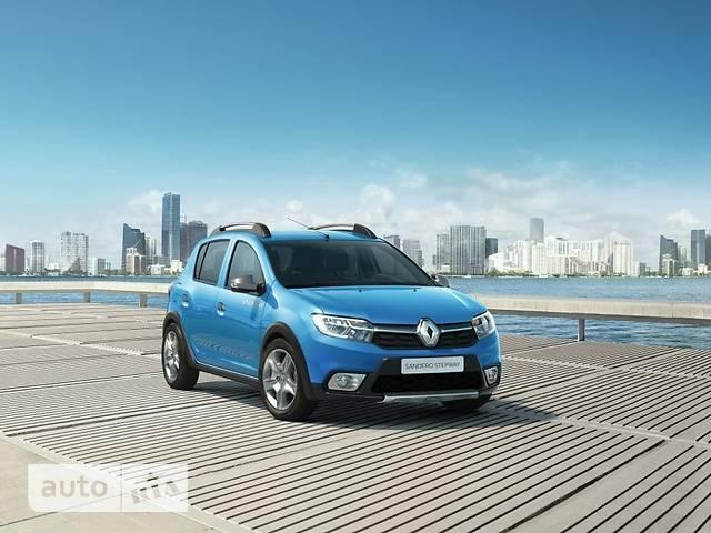 Renault Sandero 0.9TCe 5MT (90 л.с.) Stepway Techroad