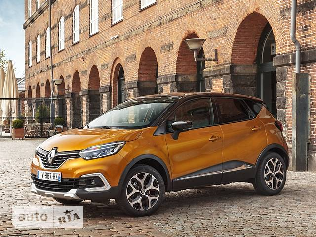 Renault Captur New 1.2 АТ (115 л.с.) Zen