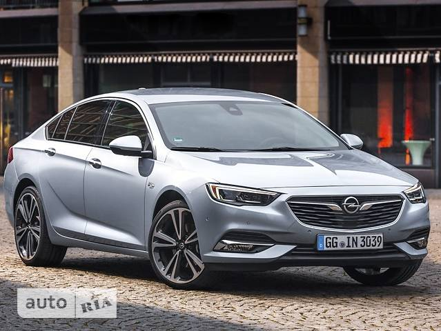 Opel Insignia Grand Sport 1.5 AT (165 л.с.) Start/Stop Edition
