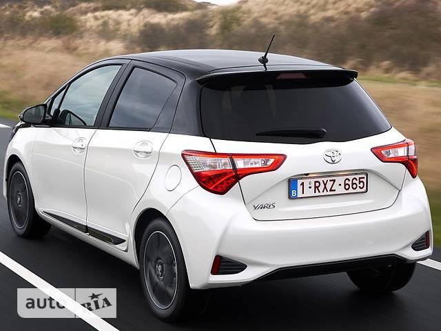 Toyota Yaris 1.5 Dual VVT-iE  CVT (111 л.с.) Active