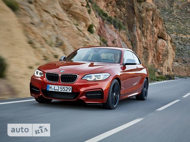 BMW 2 Series 220d AT (190 л.с.) xDrive base
