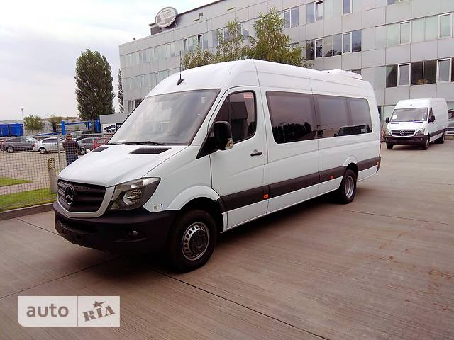 Mercedes-Benz Sprinter пасс. 316 CDI MT (163 л.с.) Extra Long base