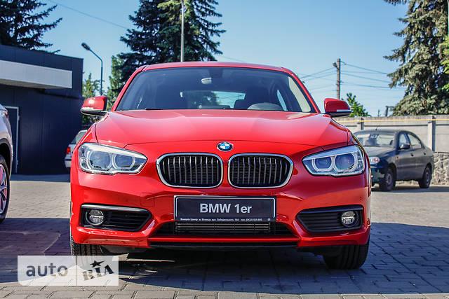 BMW 1 Series F20 118i AT (136 л.с.)