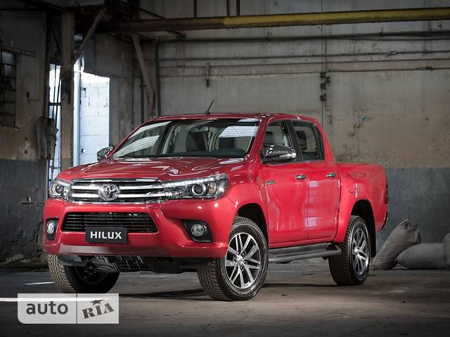 Toyota Hilux New 2.4 D-4D AT (150 л.с.) Legend