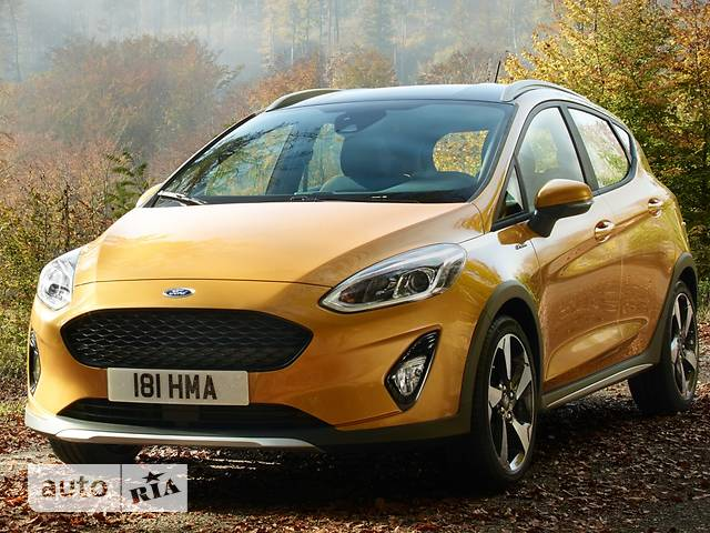 Ford Fiesta 1.0 Ecoboost AT (100 л.с.) Active