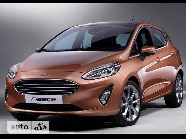 Ford Fiesta 1.1 MT (70 л.с.) Trend
