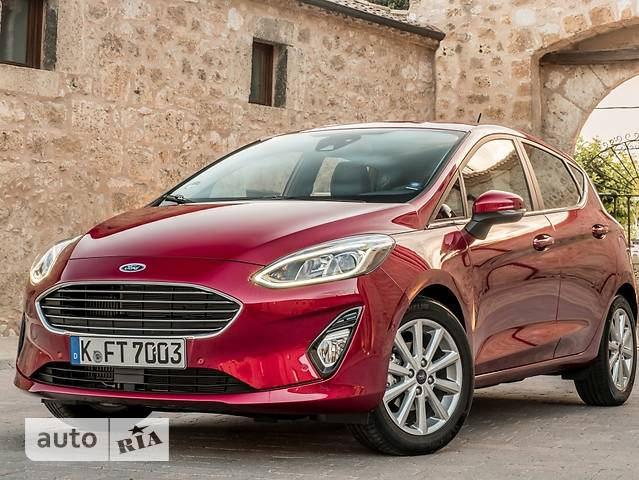 Ford Fiesta 1.0 Ecoboost AT (100 л.с.) Comfort