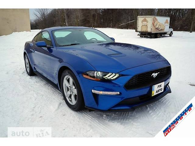 Ford Mustang 2.3 Ecoboost turbo АТ (314 л.с.) RWD Sport