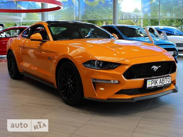 Ford Mustang 5.0 АТ (418 л.с.) GT